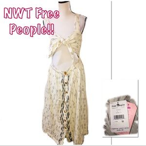 • FREE PEOPLE | NWT | Open Belly Maxi Dress •